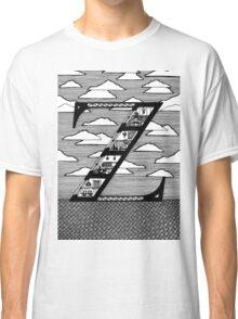 Letter Z Architecture Section Alphabet  Classic T-Shirt