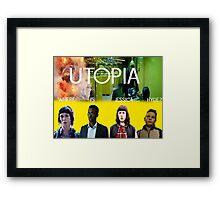 The Utopia Poster Framed Print
