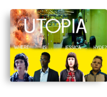The Utopia Poster Canvas Print