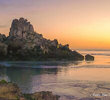 Sunrise at Shag Rock by Anne McCormack