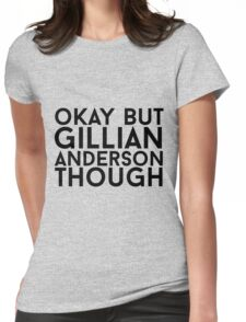 Gillian Anderson Womens Fitted T-Shirt