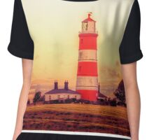 Happisburgh Lighthouse Chiffon Top
