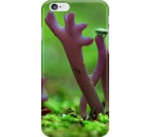 purple point of view iPhone Case/Skin