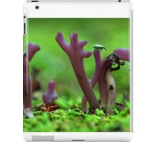 purple point of view iPad Case/Skin