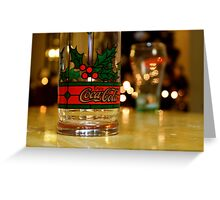 Coca-Cola Christmas Greeting Card
