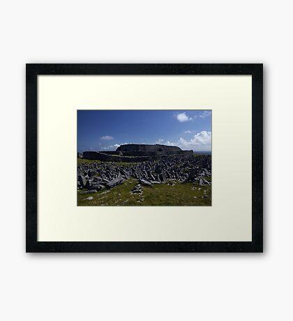 Dun  Aengus Fort, Inishmore, Aran Islands   Framed Print