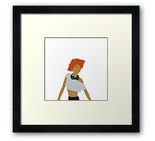 Minimalist Ed Framed Print