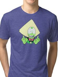 the happiest (and probably only) peridot on earth Tri-blend T-Shirt