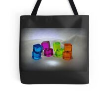 Multi Colored Cubes Tote Bag