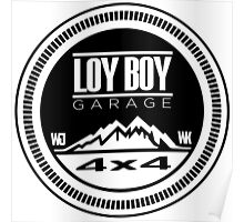 Loy Boy Garage Poster