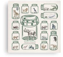 Protect Wildlife - Endangered Species Preservation  Canvas Print