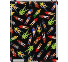 Superhero Butts Scattered on Black iPad Case/Skin
