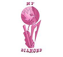 My Diamond, Pink Diamond!  Photographic Print