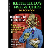Keith Hulu's Fish & Chips Photographic Print
