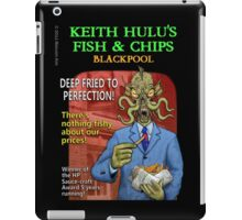 Keith Hulu's Fish & Chips iPad Case/Skin