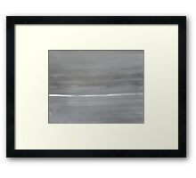 Grey Sky at Night... Framed Print