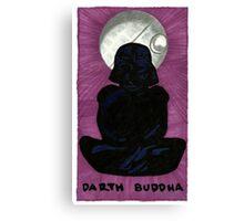 Darth Buddha Canvas Print