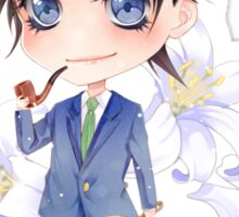 Chibi Shinichi Kudo Sticker
