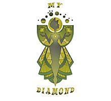 My Diamond, Yellow Diamond!  Photographic Print