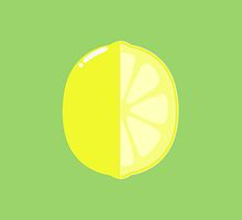 Sliced Lemon by Kingdomkey55