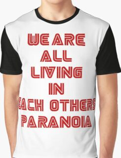 Mr Robot Paranoia Graphic T-Shirt