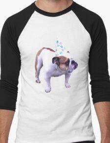 Bulldog Birthday Men's Baseball ¾ T-Shirt