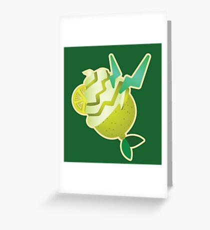 Spark Lemon - KH Greeting Card