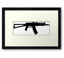 AK47 Krinkov Framed Print