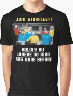join starfleet Graphic T-Shirt