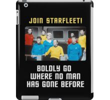 join starfleet iPad Case/Skin