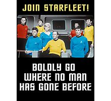 join starfleet Photographic Print