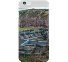 Skeleton Boat,2 iPhone Case/Skin