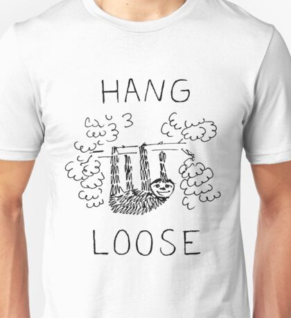 Hang Loose Sloth Unisex T-Shirt