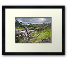 Roley Rocks Framed Print