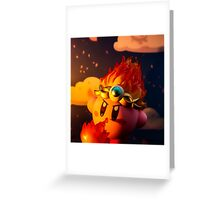 Dreams of Fire Greeting Card