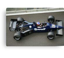 Tyrell F1 Historic Canvas Print