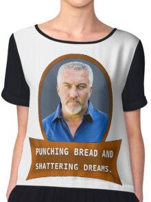 Punching bread and shattering dreams Chiffon Top
