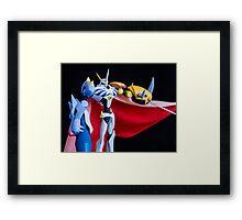 Omegamon Framed Print