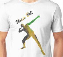 Usain Bolt Cool Jamaican Design Unisex T-Shirt