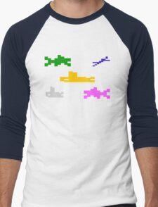 SEAQUEST - ATARI 2600 Men's Baseball ¾ T-Shirt