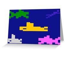 SEAQUEST - ATARI 2600 Greeting Card