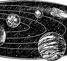 Marble Solar System by ImagineThatNYC