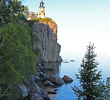 Rustic Lake Superior Lighthouse by John Carpenter