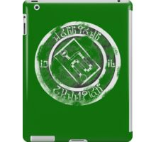 RollGoal Champion 2016 (unpainted medal) iPad Case/Skin