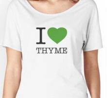 I ♥ THYME Women's Relaxed Fit T-Shirt