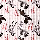 Deer heads by Animalsindresse