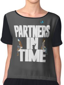"""Partners in Time"" - Life is Strange Chiffon Top"