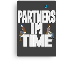 """Partners in Time"" - Life is Strange Canvas Print"