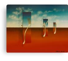"""""""GOOD MORNNG"""" 1975 Canvas Print"""