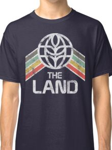 The Land Logo Distressed in Vintage Retro Style Classic T-Shirt